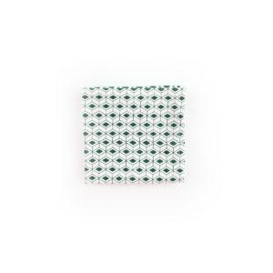 Carré de poche - Blanc Ecru / Kaki